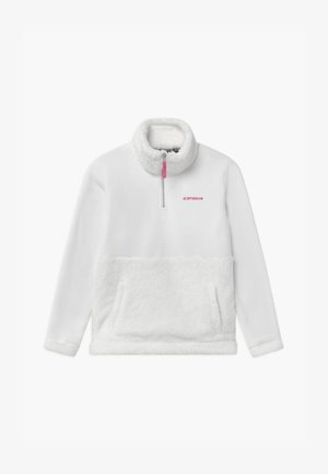 LINGEN UNISEX - Fleece jumper - optic white