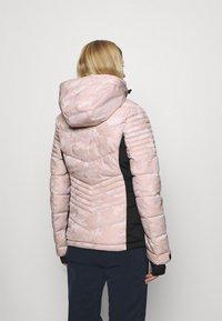 Superdry - SNOW LUXE PUFFER - Skijakke - pink - 3