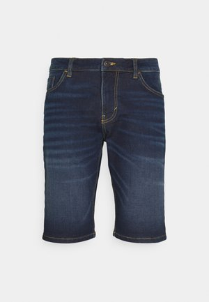 JOSH - Short en jean - dark stone wash denim