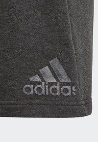 adidas Performance - FUTURE ICONS BADGE OF SPORT SHORTS - Sports shorts - black - 6