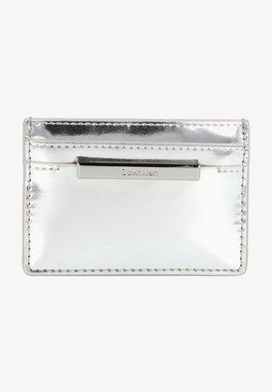 Wash bag - silver