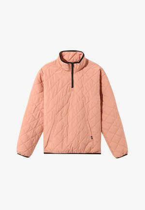 WM QUILTED V MOCK ANORAK - Winter jacket - rose dawn