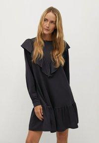 Mango - ADELINA - Korte jurk - antraciet - 0