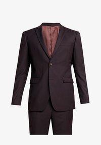 SUIT - Oblek - bordeaux red