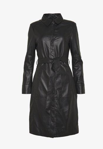 INDIANA - Košilové šaty - black