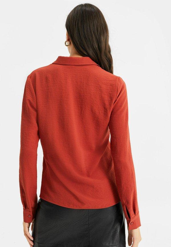 WE Fashion Koszula - red/czerwony FYVR