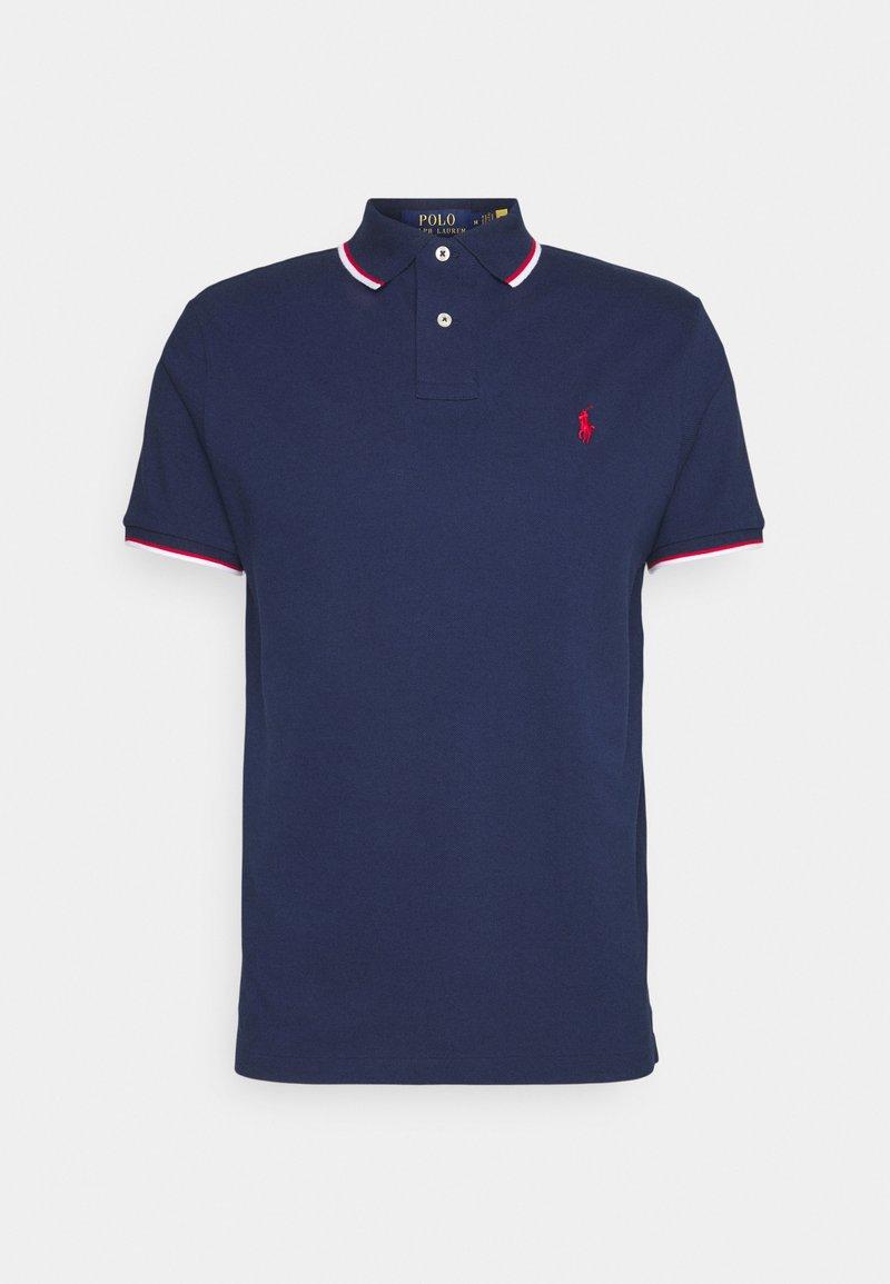 Polo Ralph Lauren - CUSTOM SLIM FIT MESH POLO SHIRT - Polo shirt - newport navy