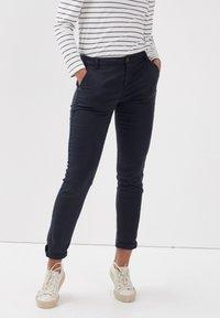 BONOBO Jeans - Pantalones chinos - bleu foncé - 0