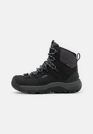 REVEL IV MID POLAR - Snowboots  - black/harbor gray