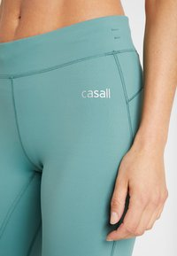 Casall - SYNERGY - Tights - streaming green - 4