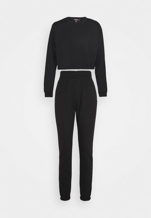 CROP JOGGER COORD set - Sweatshirt - black