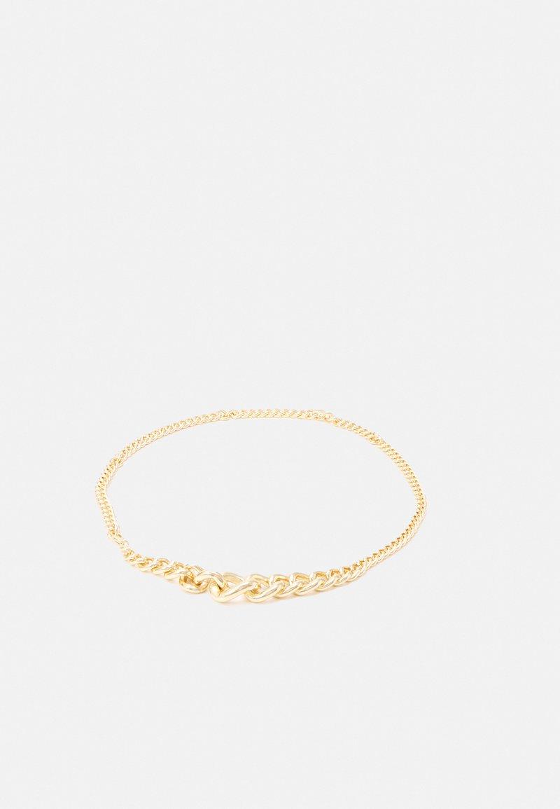 Pieces - PCMARTINE CHAIN WAIST BELT - Waist belt - gold-coloured
