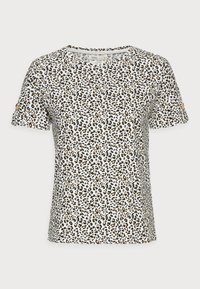 BOTON - Print T-shirt - ivory