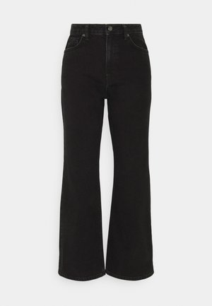 HIGHWAIST - Jeans relaxed fit - washed black