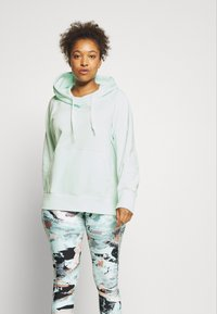 Under Armour - RIVAL HOODIE - Mikina - seaglass blue - 0