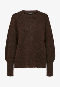 Selected Femme - Sweatshirt - coffee bean - 5