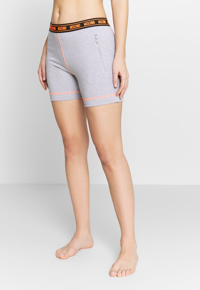 SHORT PANTS - Pyjamahousut/-shortsit - gray melange