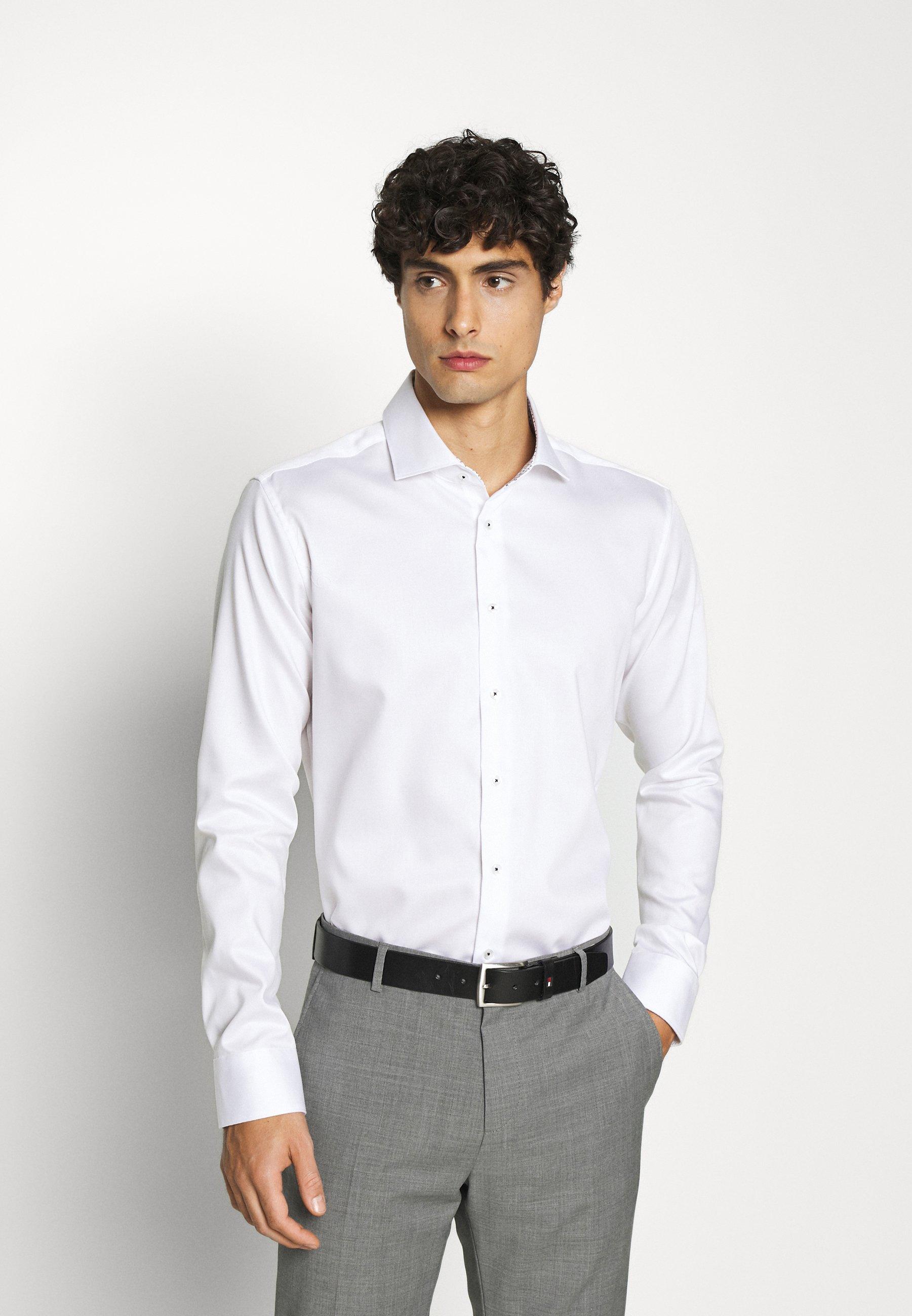 Men SLIM LIGHT SPREAD KENT PATCH - Formal shirt