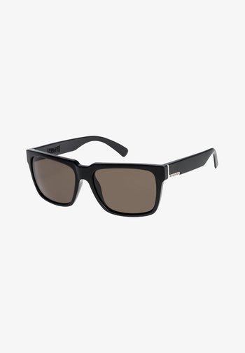 BRUISER - Lunettes de soleil - shiny black/grey