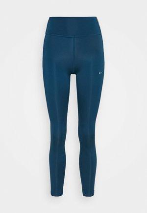 ONE COLORBLOCK - Leggings - valerian blue/black/cool grey
