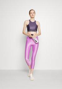 Nike Performance - TANK - Linne - dark raisin/black - 1
