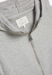 Next - SUPERSOFT - Zip-up hoodie - grey - 2