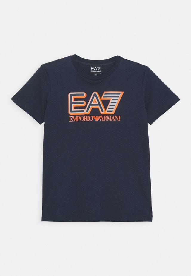 EA7 - T-Shirt print - navy blue