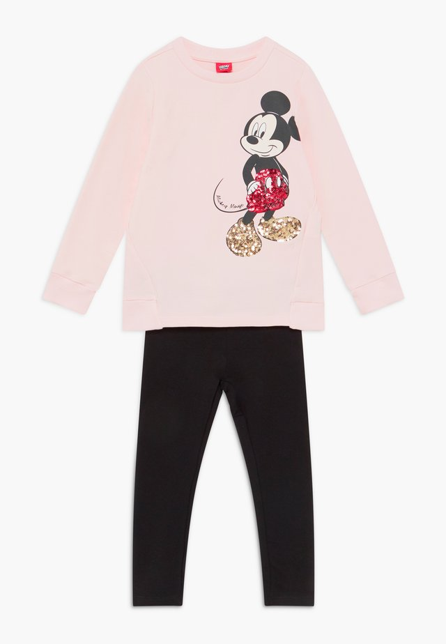MICKEY MOUSE SET  - Mikina - rosewater