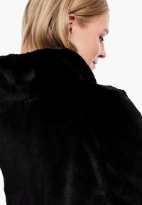 s.Oliver - TEDDY - Winter coat - black - 3