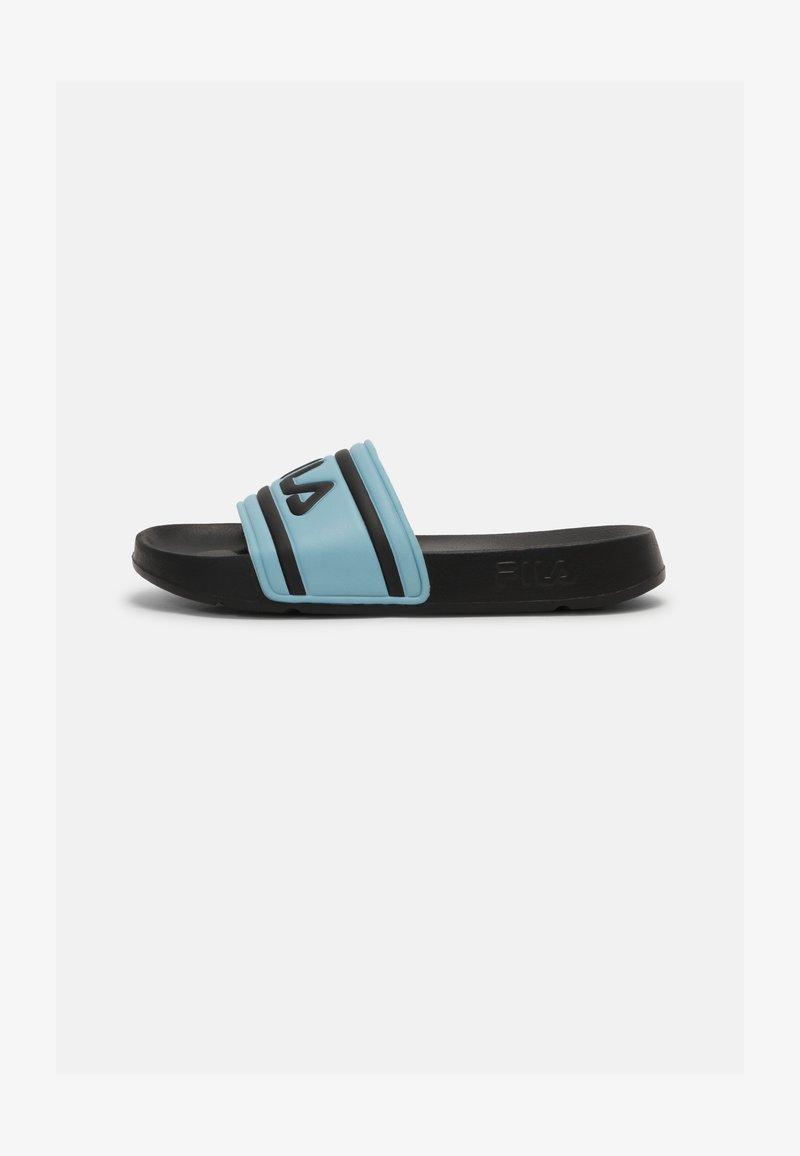 Fila - MORRO BAY - Mules - black/cameo blue
