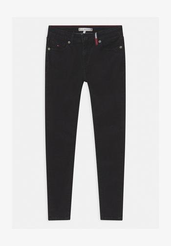 NORA SUPER SKINNY - Jeans Skinny Fit - black denim
