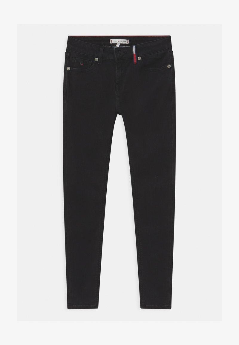 Tommy Hilfiger - NORA SUPER SKINNY - Jeans Skinny Fit - black denim