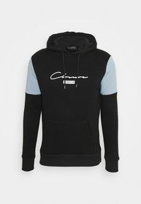 CLOSURE London - CUT & SEWHOODY - Felpa con cappuccio - black - 0