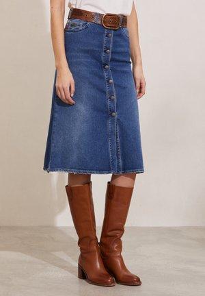 IVY - A-line skirt - light blue