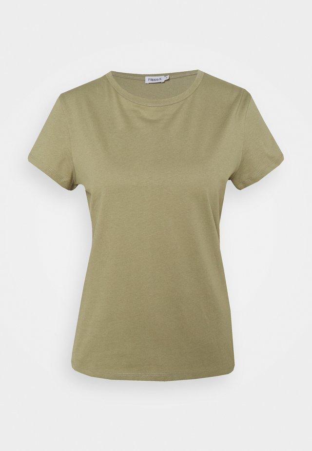 EDNA - T-shirt basique - sage green