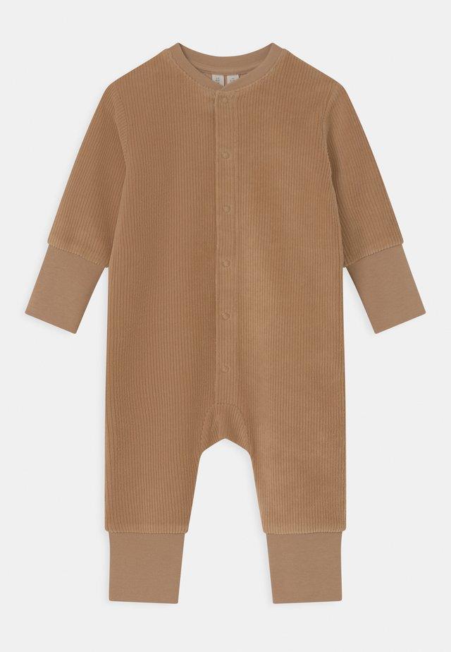 UNISEX - Jumpsuit - light brown