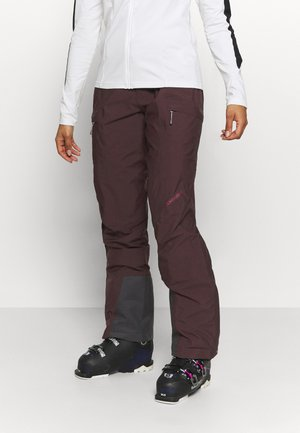 ANGULAR PANT RED ILLUSION - Schneehose - red illusion