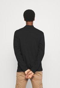 GAP - LOGO MOCK - Long sleeved top - true black - 2