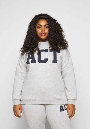 PCLARA  - Sweatshirt - light grey melange