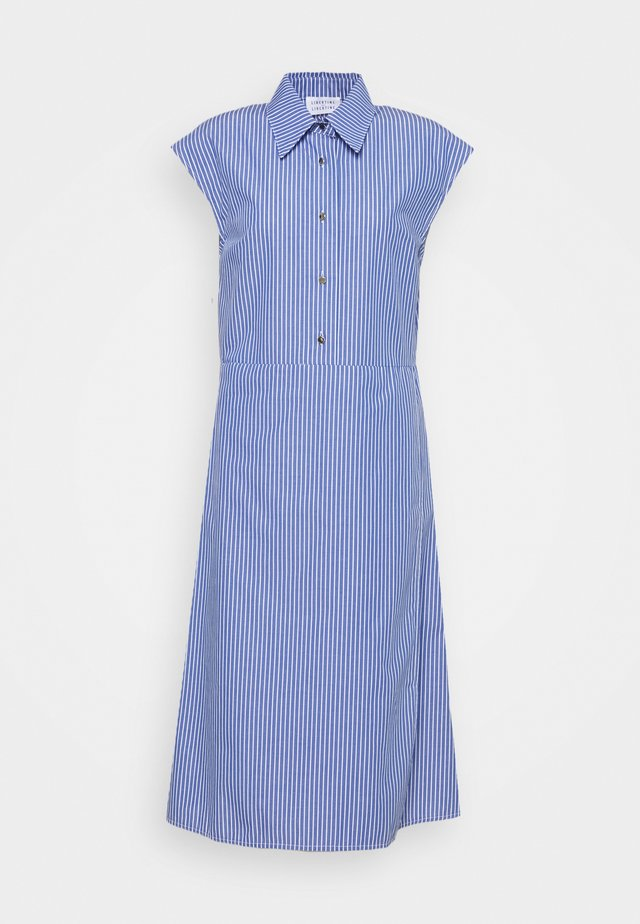SOURCE - Shirt dress - blue