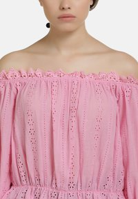 myMo - BLUSE - Blouse - pink - 3