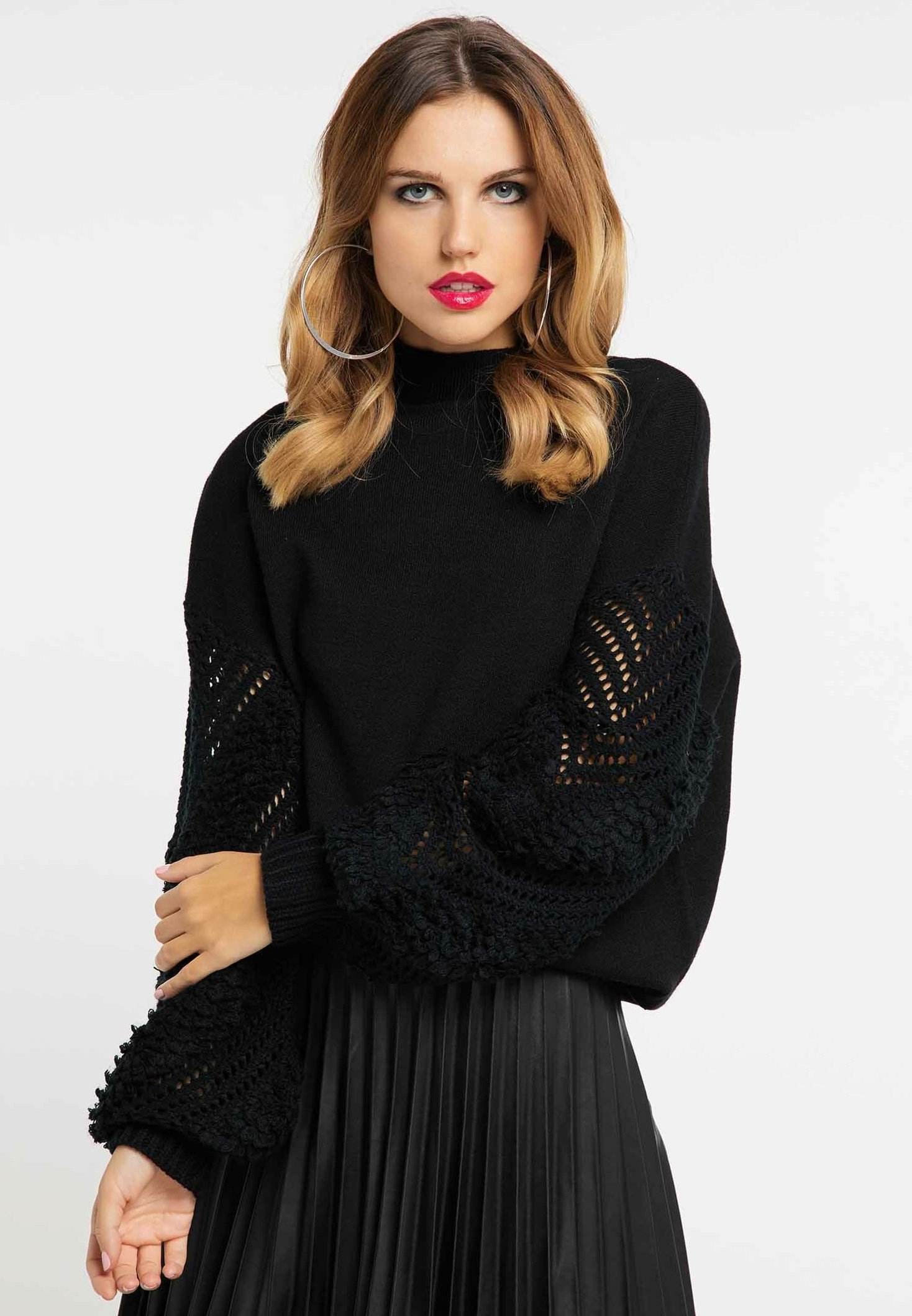 Sale Women's Clothing faina Jumper black d05l6mncn
