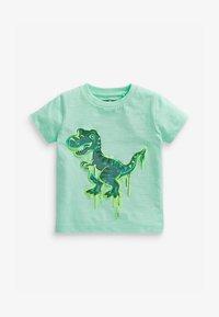 Next - Print T-shirt - light green - 0