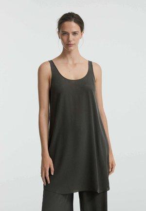 Jersey dress - dark grey