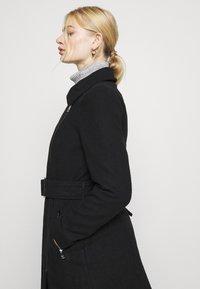 ONLY - ONLOLIVIA LONG BIKER COAT - Zimní kabát - black - 3