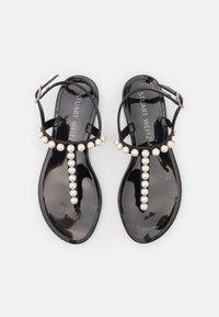 Stuart Weitzman - GOLDIE - T-bar sandals - black - 3