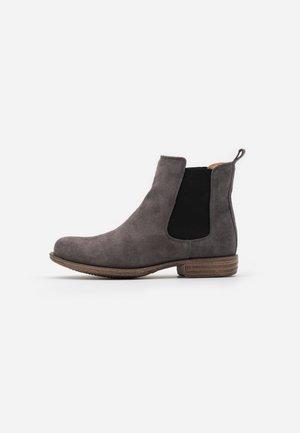 LEATHER  - Kotníkové boty - grey