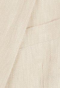 Bershka - Krótki płaszcz - beige - 5