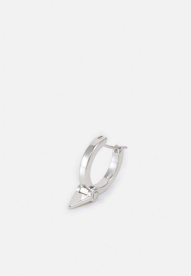 TRIAN HUGGIE UNISEX - Örhänge - silver-coloured