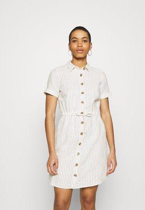 DRESS - Shirt dress - antique white